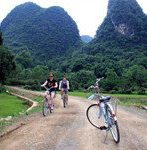 cycling around yangshuo 1