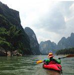 kayaking liriver