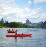 kayaking on li river